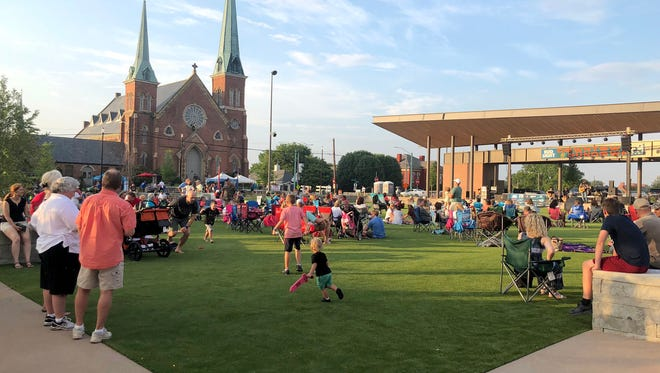 A new concert series is coming to Downtown Commons: Mic Check Monday will be every Monday in June and July.