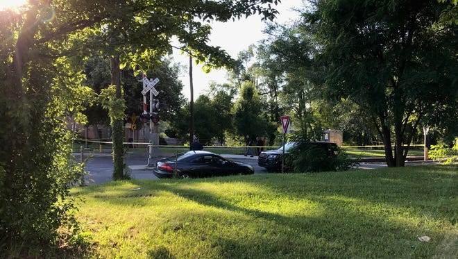 At least one person was killed in a single-vehicle crash involving a pedestrian in York City on Thursday.