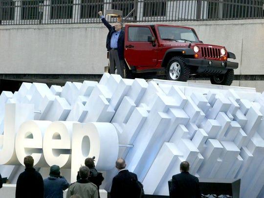 In 2006,Tom LaSorda, President and CEO of the Chrysler