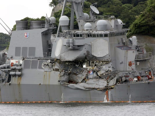 US Navy Pacific Accidents