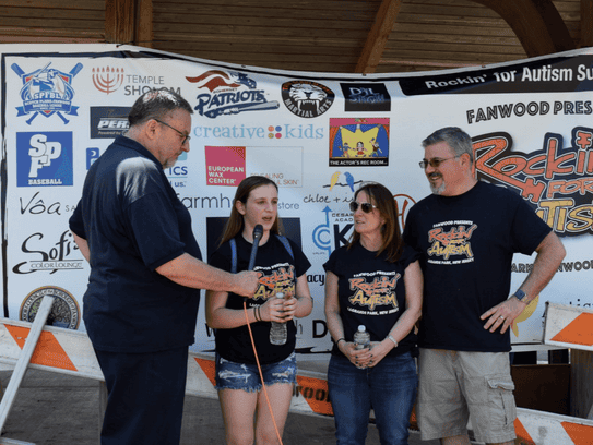 The Rockin' for Autism fair was conducted on April