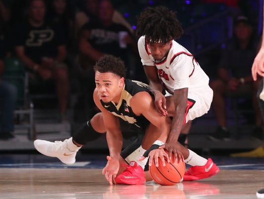 NCAA Basketball: Battle 4 Atlantis-Western Kentucky vs Purdue