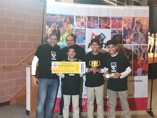 The Princeton Unimaters is a FLL team: Amogh Joshi,