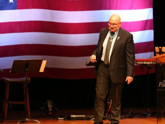 Gary Beikirch shares at First Bible Baptist Church