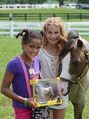 Breyer invites children to discover the world of horses at the first Pony Up! festival at the historic United States Equestrian Headquarters in Peapack-Gladstone on Saturday, June 18.