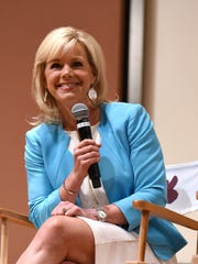 Gretchen Carlson speaks Women at the Top: Female Empowerment