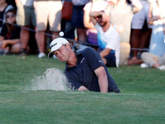 Jan 14, 2018; Honolulu, HI, USA; PGA golfer Patton