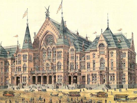 Cincinnati Music Hall, 1878
