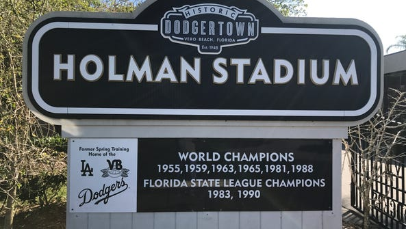 """The facility is now named """"Historic Dodgertown,"""" but"""