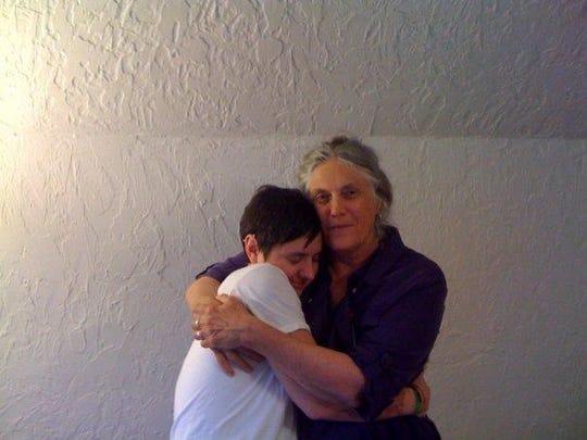 laura huggin me BIG HUG '09