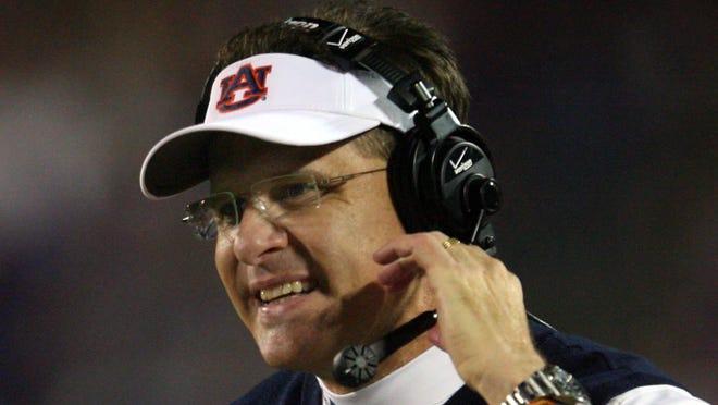 Auburn coach Gus Malzahn's squad remains No. 5 in the Amway Coaches poll this week.