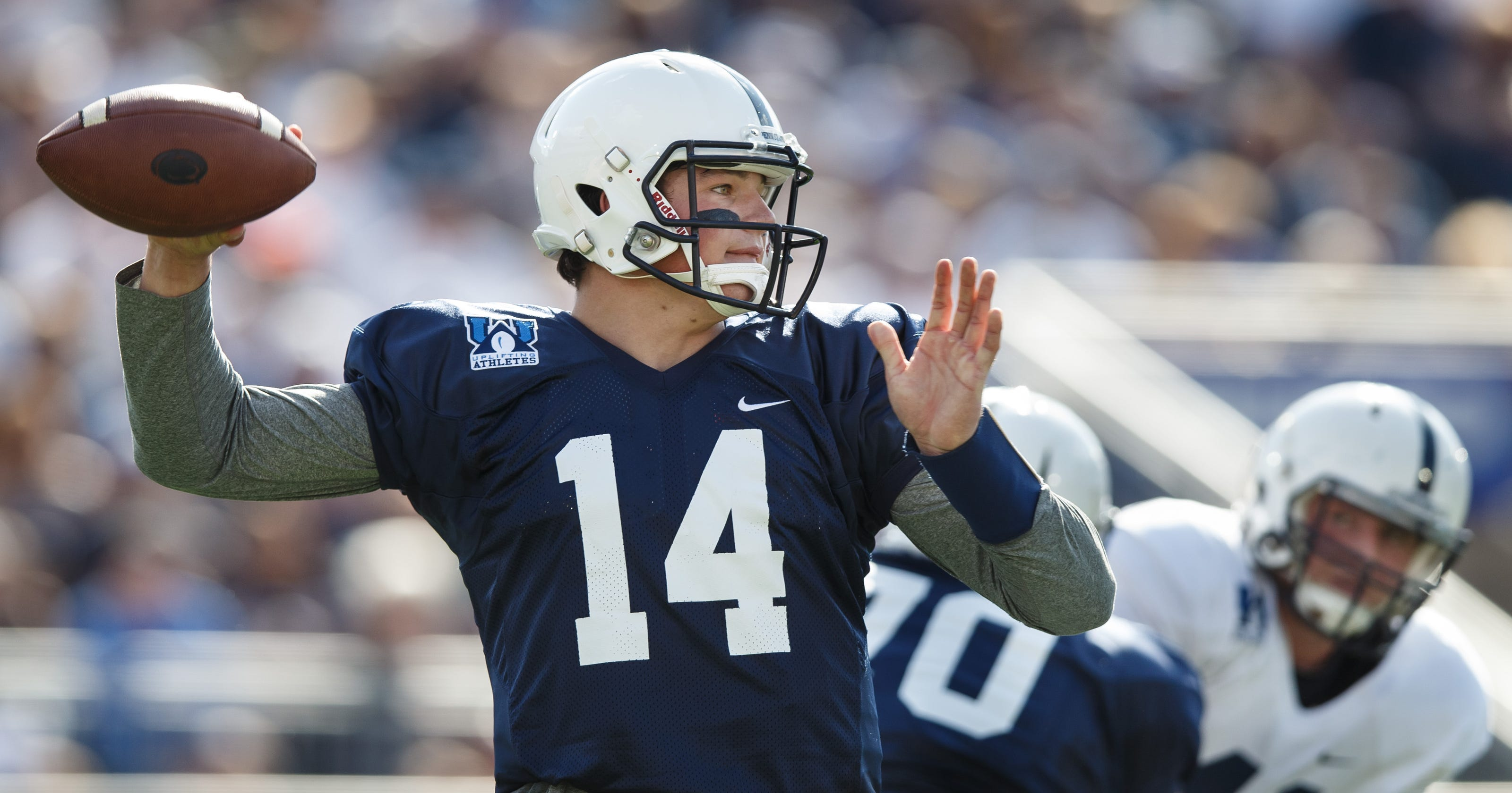 Penn State to remove names from back of football jerseys 548b8fa90d83