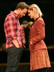 """Once"" stars Stuart Ward and Dani de Waal. The musical"