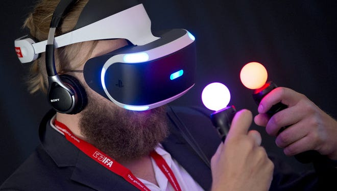 Sony's Morpheus VR goggles will be among a flood of new AR/VR tech coming in 2016, a future that Apple also appears to be preparing for with the recent purchase of Faceshift.