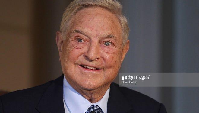 Billionaire financier. Donated  $8.0 million.