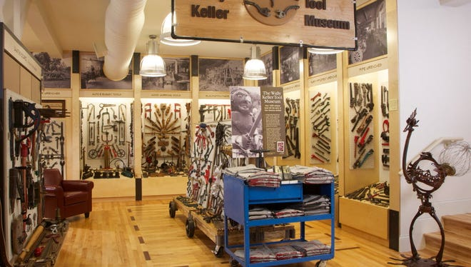 The Duluth Trading Co. store in Mt. Horeb has a tool museum.