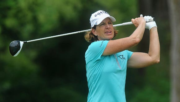 Juli Inkster, like her younger golf rivals, has no