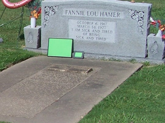 U.S. Rep. Bennie Thompson said among sites in Mississippi that should be considered for inclusion in the Natiobnal Park Service is the gravesite of civil rights icon Fannie Lou Hamer in Ruleville.