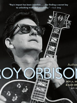 """Book cover of """"The Authorized Roy Orbison"""""""