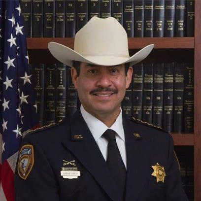 Sheriff Adrian Garcia, a former Houston police officer