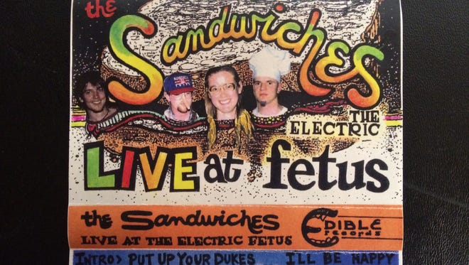 The Sandwiches were a big part of the live music scene in St. Cloud in the 1990s.