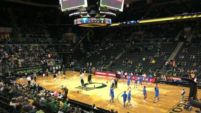 Oregon vs. UCLA.