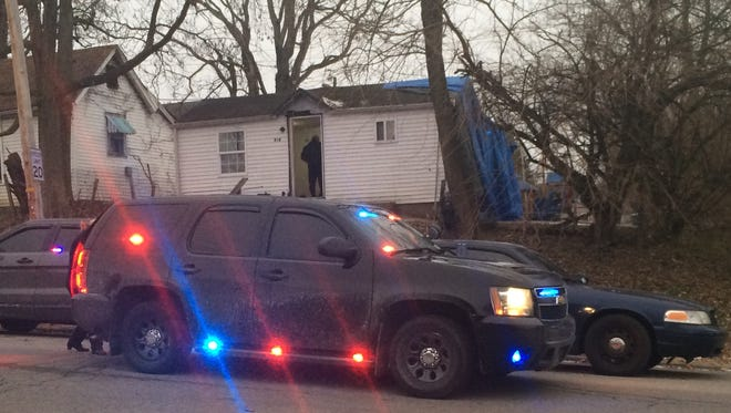 Richmond Police Department investigated the death of Tylissa Isaacs on Wednesday at 814 N. 13th St.