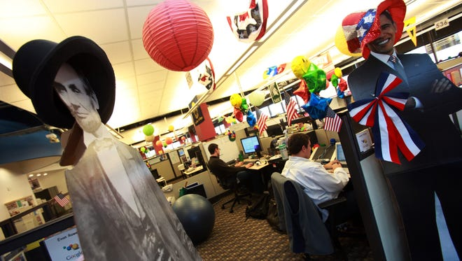 Google has about 85,000 square feet on several floors of the McKinley Towne Centre office in downtown Ann Arbor.