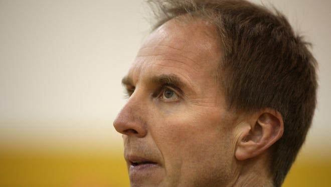 Jim Johnson coached his final season at Greece Athena in 2015-16.