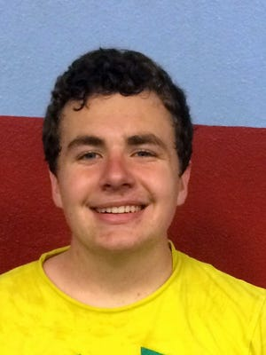 Joseph Mayfield, a junior, is slotted to play singles and expects to compete for a regional spot this season