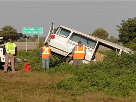 Florida-Fatal-Van-Crash