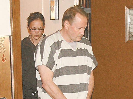 Joseph Schmitz appears in court on May 2, 2016 after