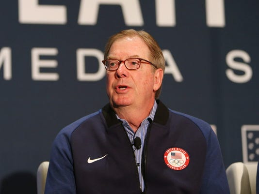 USP OLYMPIC PREVIEW: U.S. OLYMPIC TEAM MEDIA SUMMI S OLY USA UT