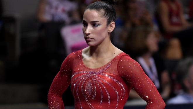 Aly Raisman says she, too, was abused by USA Gymnastics team doctor Larry Nassar.