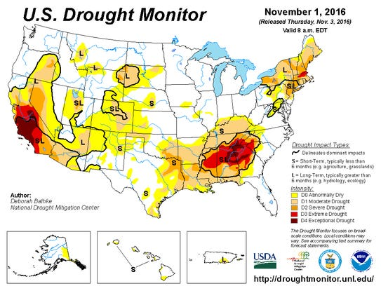 Drought Conditions Affect Middle Tennessee
