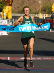 Max Sliwa of Tempe wins the men's division at the 14th