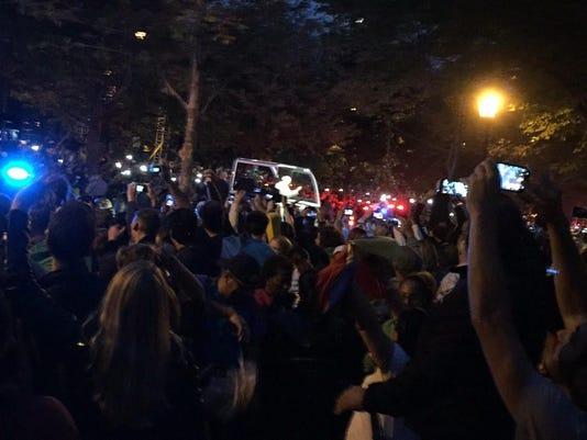 papal parade