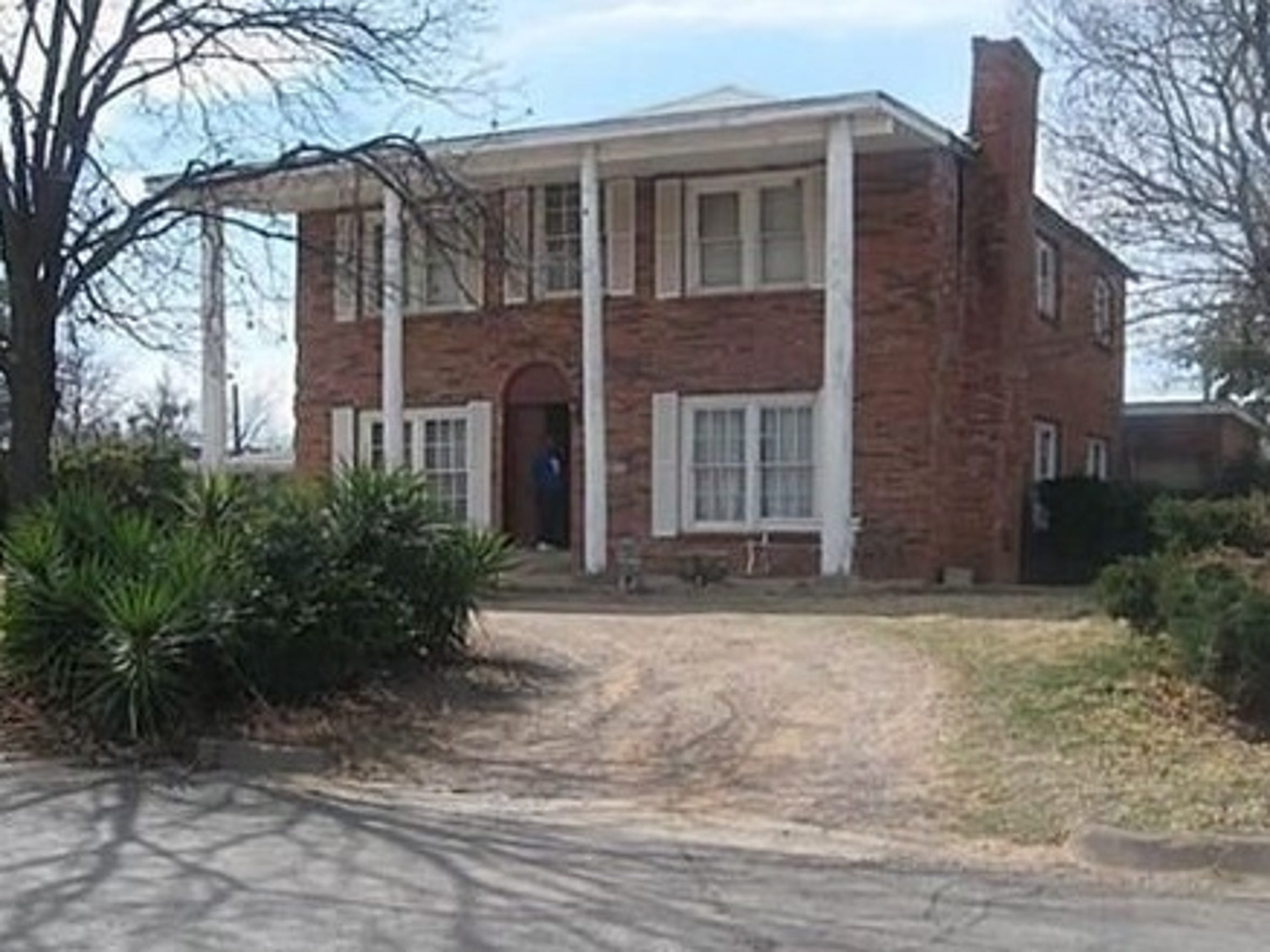 The former home of Idella James, at the corner of Mesquite and North 17th streets. It was moved, family said, from Grape Street in the early 1960s.