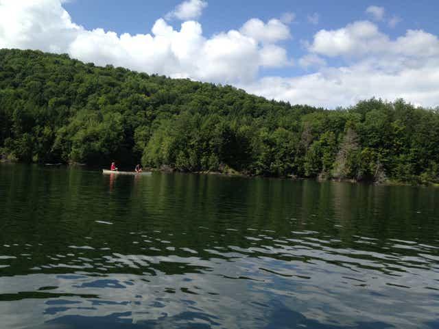 Swim, paddle or picnic at reservoir in Waterbury