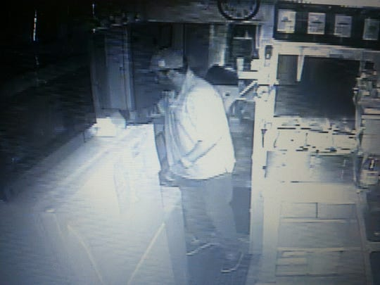 Police are looking for this man in connection to a Carencro burglary.