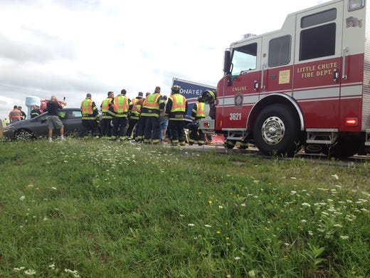 Two Crashes Her Traffic On Us 41 - Www imagez co