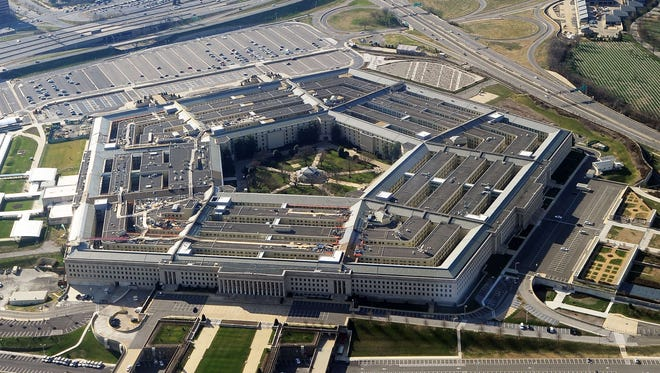 The Pentagon building near Washington, D.C. Funding for national defense programs would increase under a compromise spending deal reached by congressional negotiators.