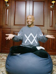 Russell Simmons at his office at Rush Communications