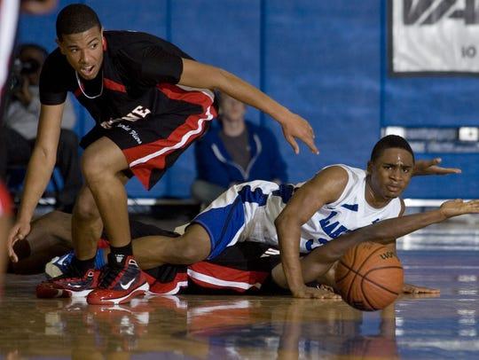 Neptune vs Lakewood boys varsity basketball opens the