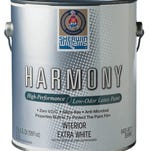 Sherwin-Williams Harmony interior latex paint is made without VOCs (volatile organic compounds), which are emitted as gases and can be toxic. They can cause short-term and long-term adverse health effects, according to the U.S. Environmental Protection Agency.