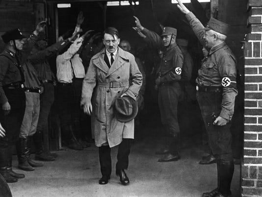 AP GERMANY HITLER PRISON RECORDS I FILE DEU