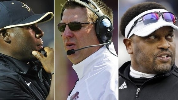 Montgomery Advertiser columnist Duane Rankin thinks Vanderbilt's Derek Mason, Arkansas Bret Bielema or Texas A&M's Kevin Sumlin could be the first SEC coach to have a satellite camp.