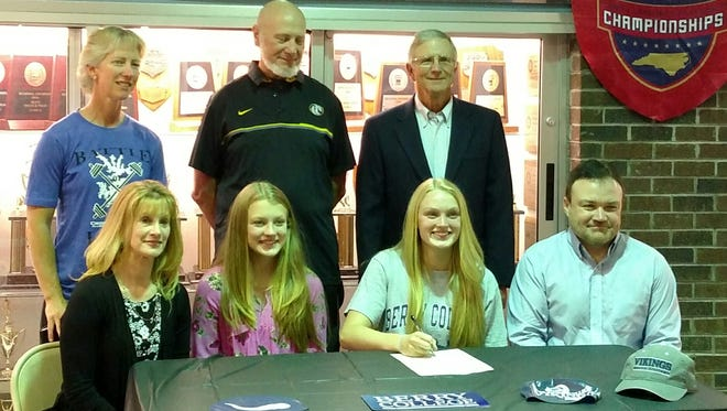 Murphy senior Emily Reid has signed to swim in college for Berry (Ga.).