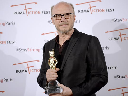 Paul Haggis at the Roma Fiction Fest in Rome in November 2015.