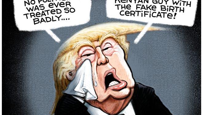 Crybaby Trump